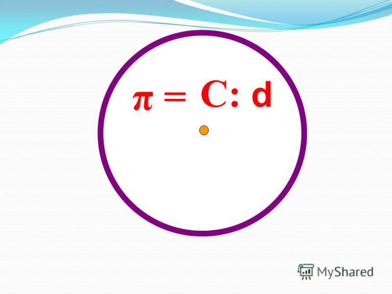 C: d π =