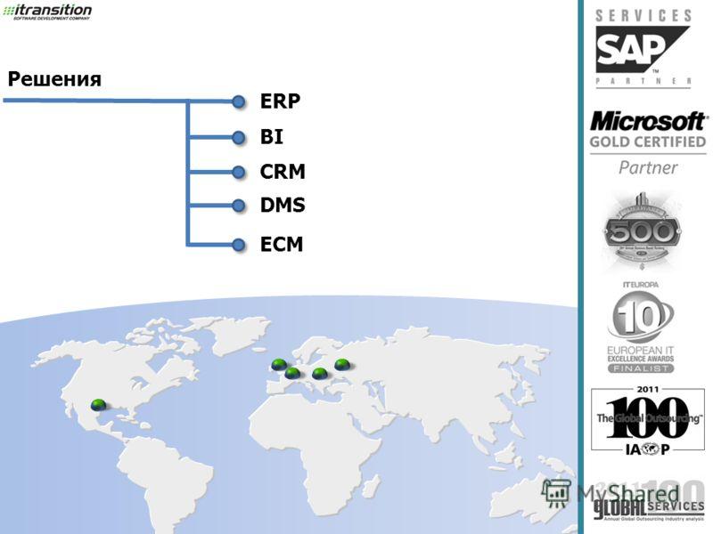 ERP BI CRM Решения DMS ECM