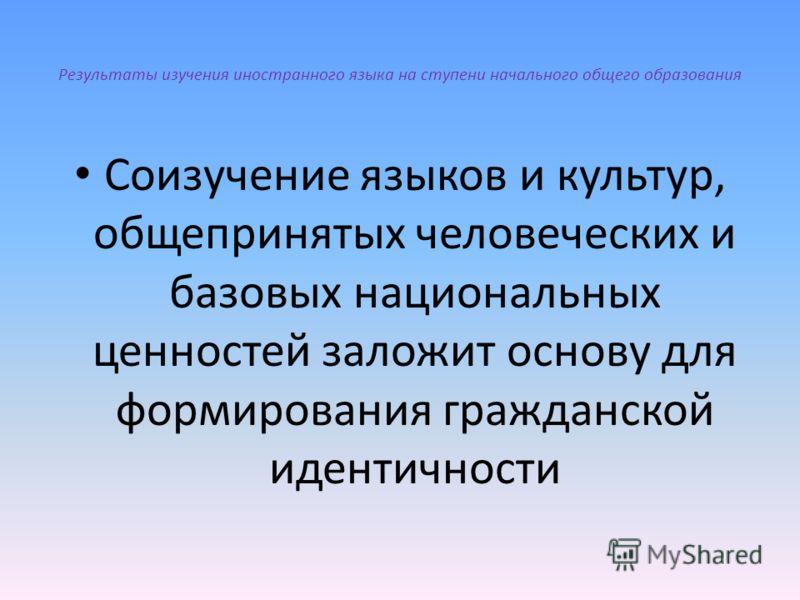 гражданское образование английский язык: