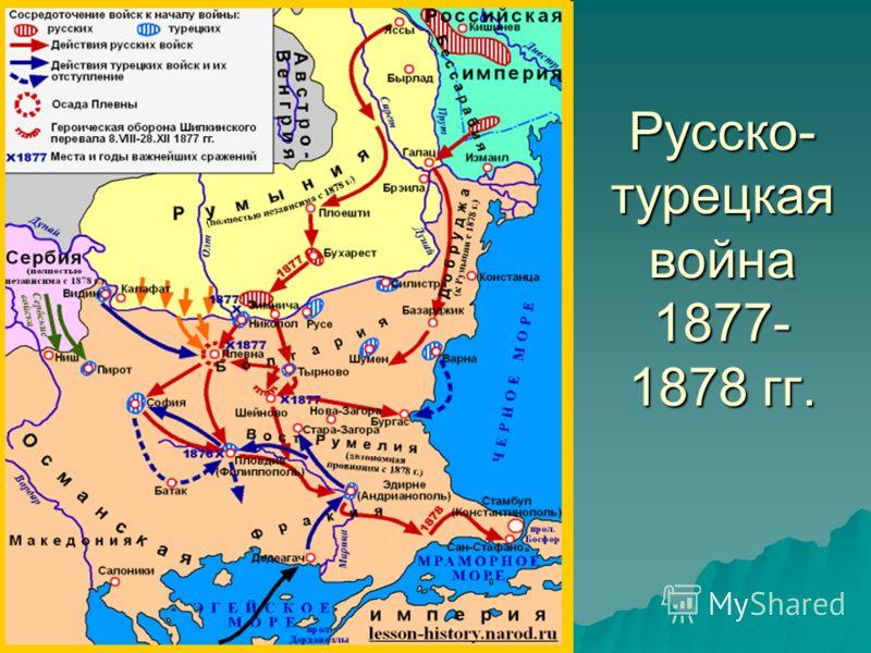 Русско- турецкая война 1877- 1878 гг.