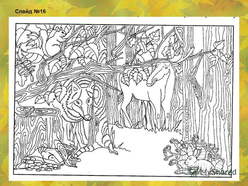 1.Перемена погоды. 2.Отлет перелетных птиц. 3.Изменение окраски листьев древесных растений. 4.Осенний листопад. Слайд 15 Определение признаков осени.