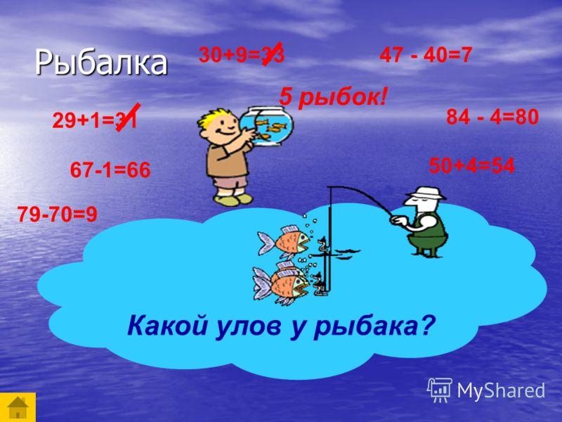 Рыбалка Рыбалка