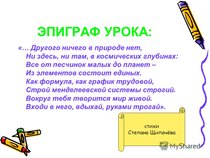 ДЕВИЗ УРОКА: Чтобы стать настоящим химиком, надо знать, уметь, думать!