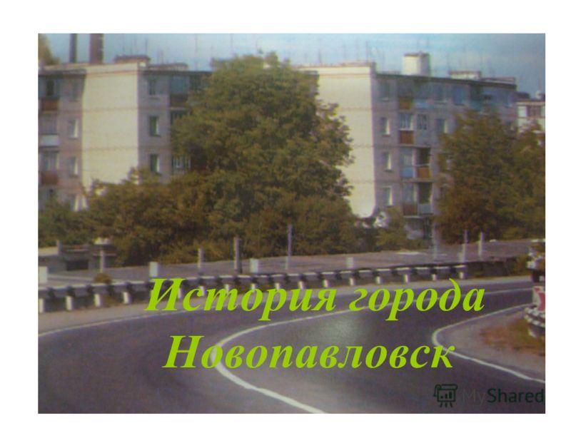 История города Новопавловск