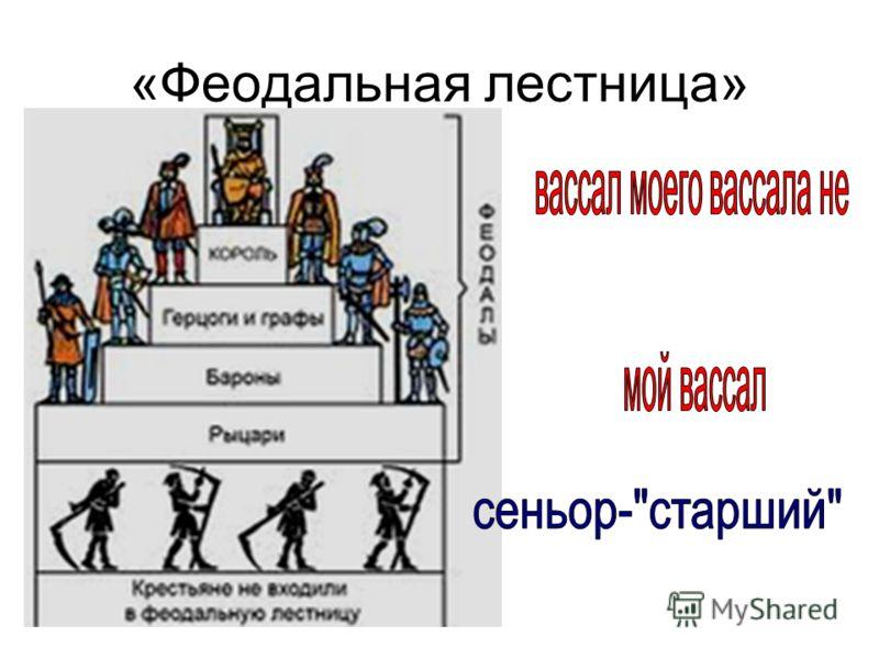 «Феодальная лестница»