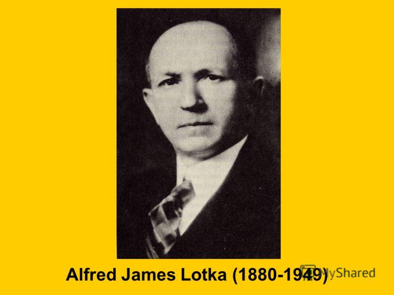 Alfred James Lotka (1880-1949)