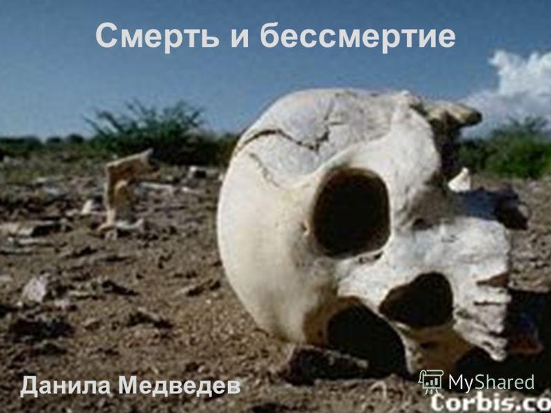 Смерть и бессмертие Данила Медведев