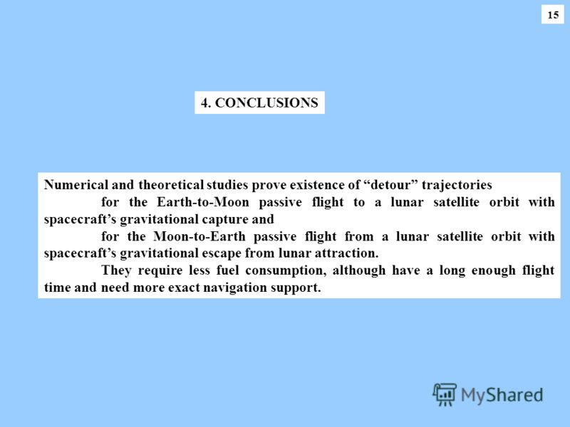 1515 Numerical and theoretical studies prove existence of detour trajectories for the Earth-to-Moon passive flight to a lunar satellite orbit with spacecrafts gravitational capture and for the Moon-to-Earth passive flight from a lunar satellite orbit