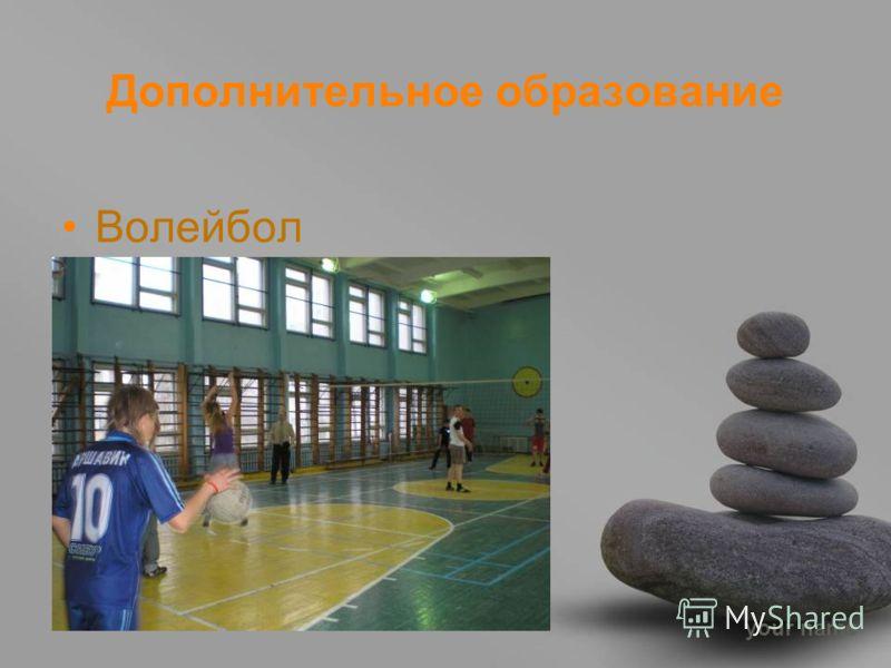 your name Дополнительное образование Волейбол