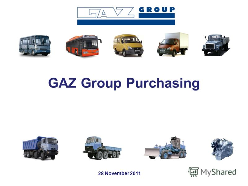 GAZ Group Purchasing 28 November 2011