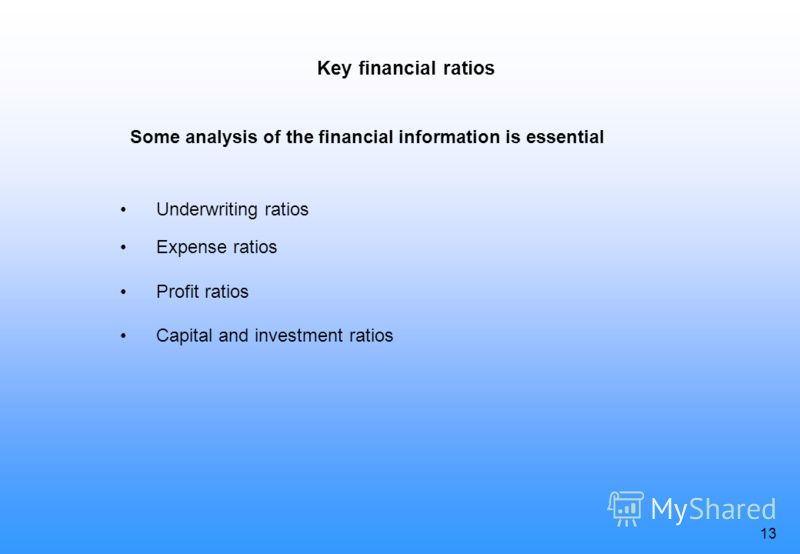 12 Past financial results and future possibilities Balance sheet and report on financial activities should be shown in a way that can be understood by investors. The results in the previous five years should be shown An estimate of the current year i