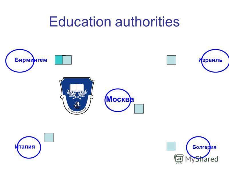 Education authorities Бирмингем Болгария Италия Израиль Москва