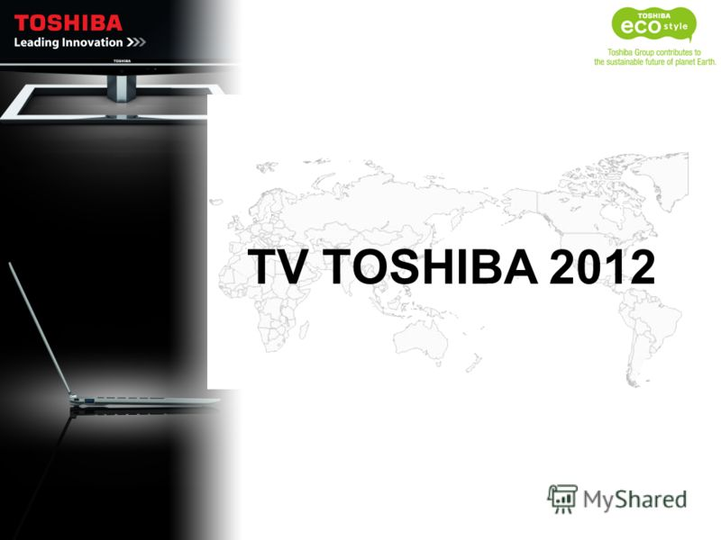 TV TOSHIBA 2012