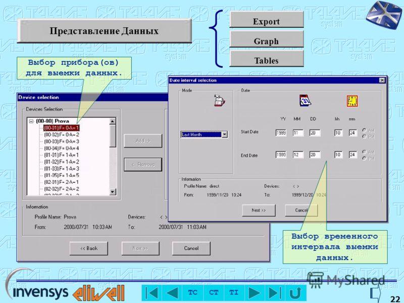 TC CT TI 20 RVD Позволяет удаленно управлять прибором с имитацией реального устройства Из списка приборов сети можно выбрать любой, включая и сам центральный блок TelevisCompact Клавиатура приборов доступна через манипулятор «мышь».