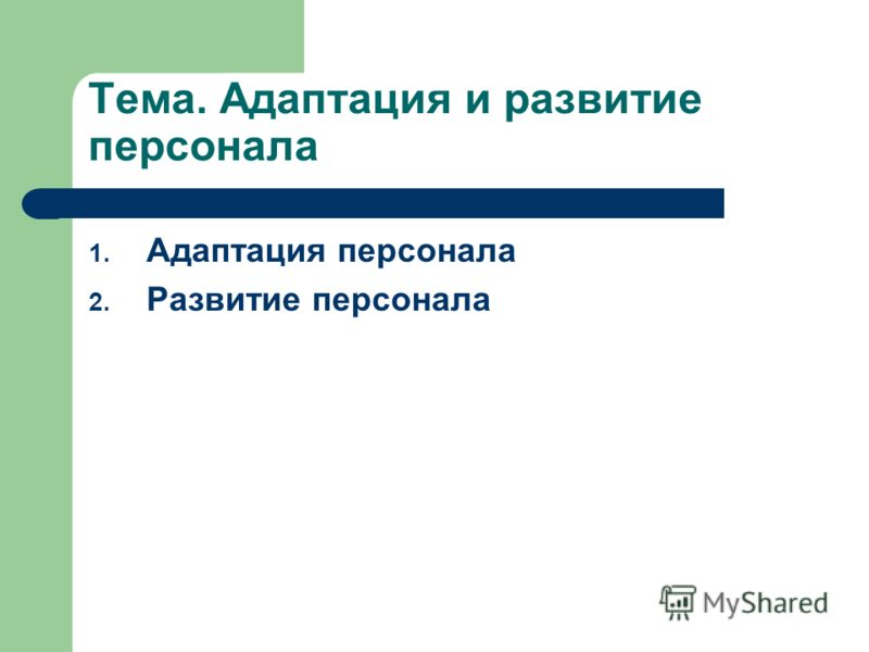 программа адаптации персонала в организации образец