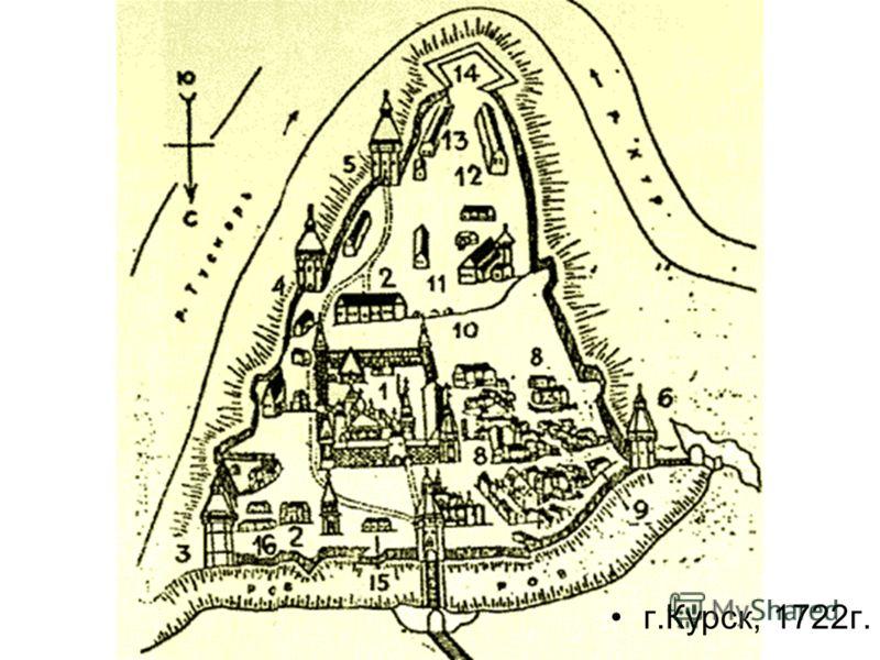 г.Курск, 1722г.