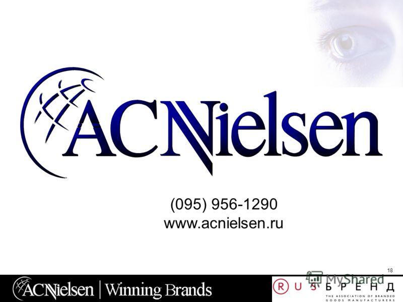 18 (095) 956-1290 www.acnielsen.ru