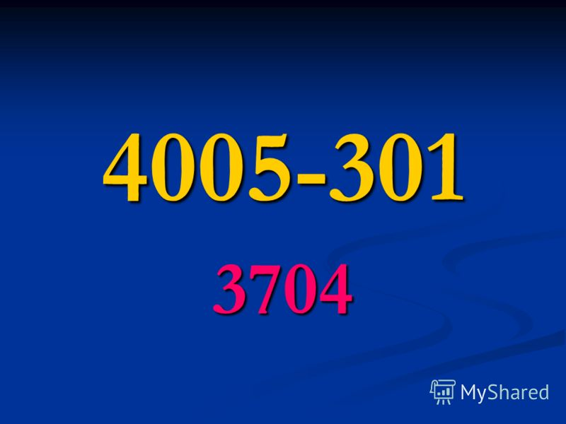 4005-301 3704