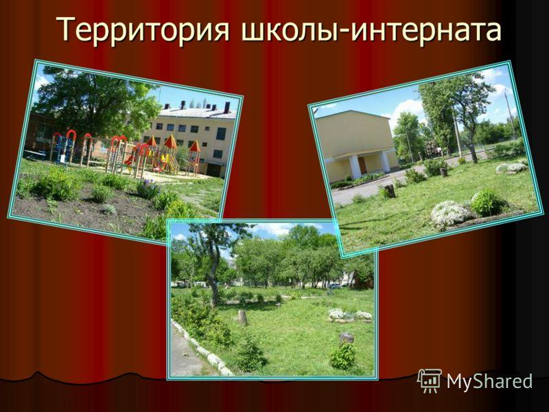 Территория школы-интерната
