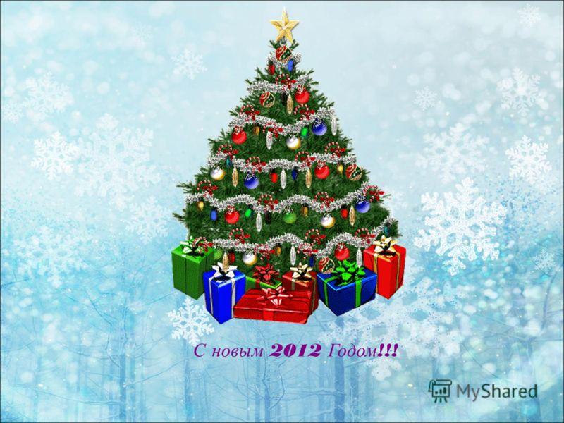 С новым 2012 Годом !!!