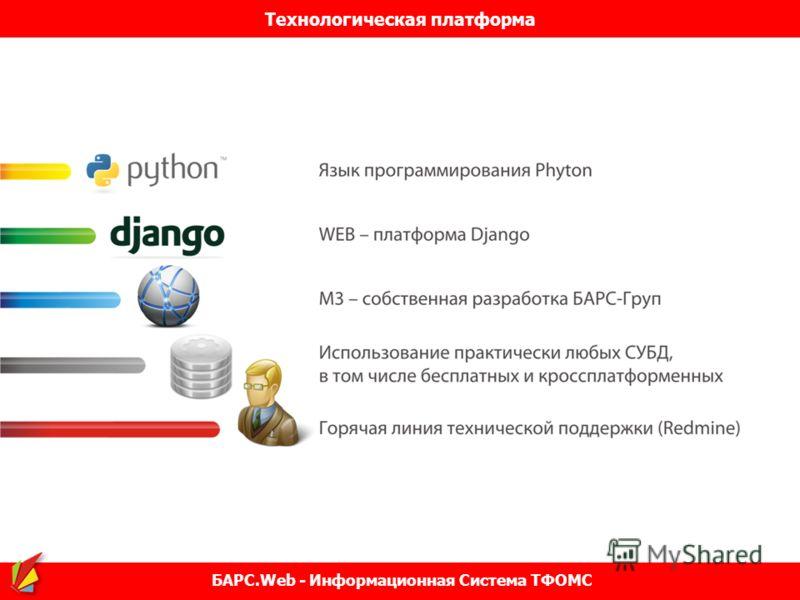 Технологическая платформа БАРС.Web - Информационная Система ТФОМС