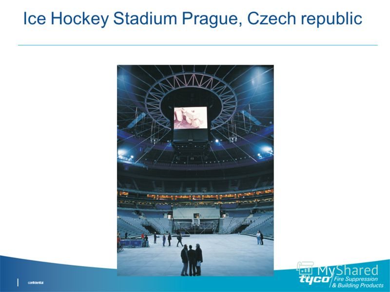 confidential Ice Hockey Stadium Prague, Czech republic