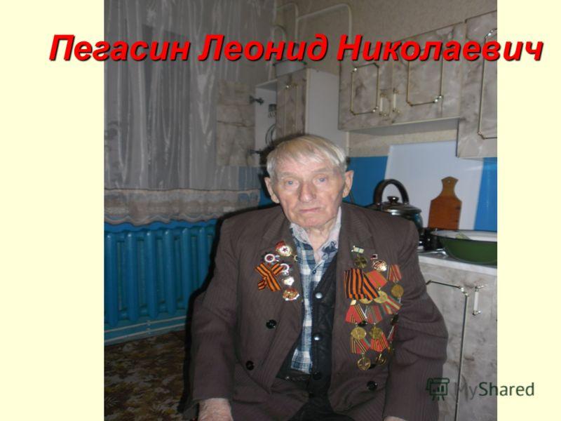 Пегасин Леонид Николаевич