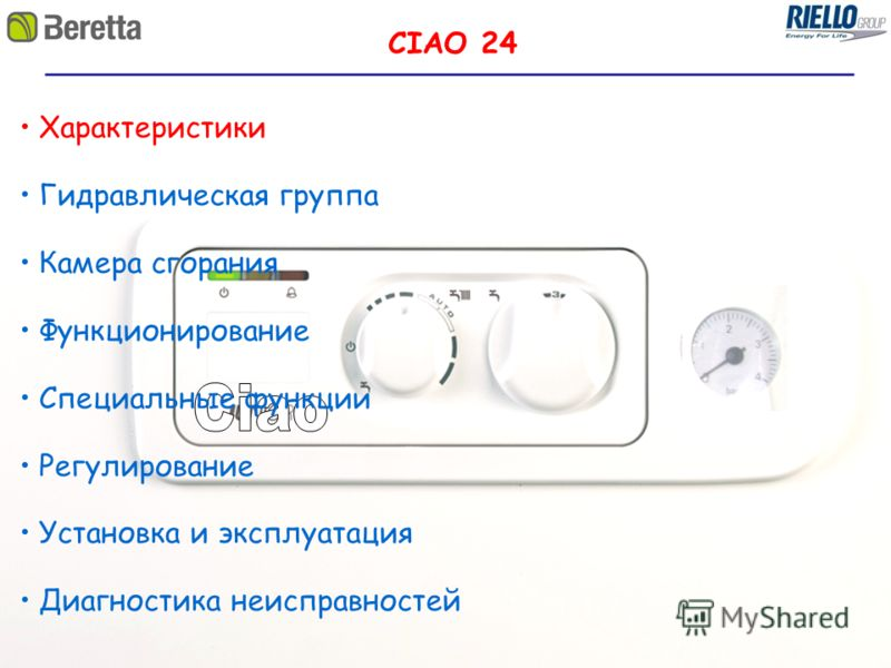 Инструкция Riello 40