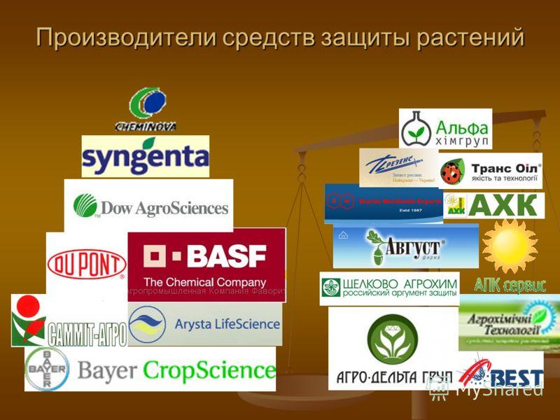 Производители средств защиты растений