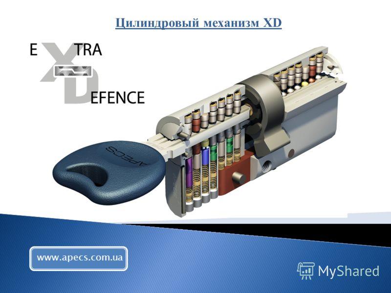 Цилиндровый механизм XD www.apecs.com.ua
