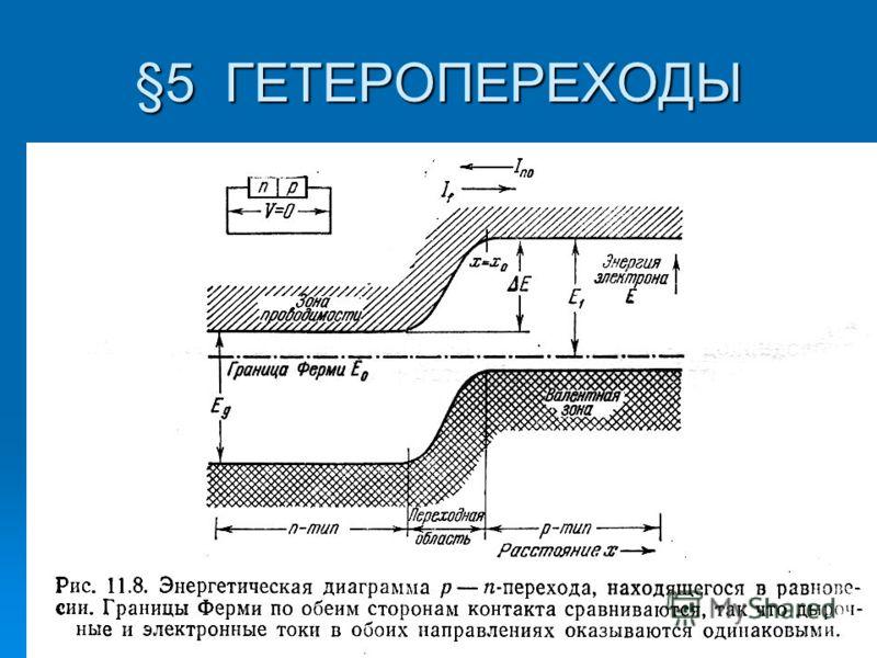 §5 ГЕТЕРОПЕРЕХОДЫ