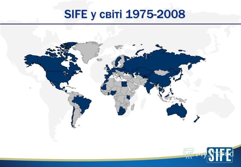 SIFE у світі 1975-2008