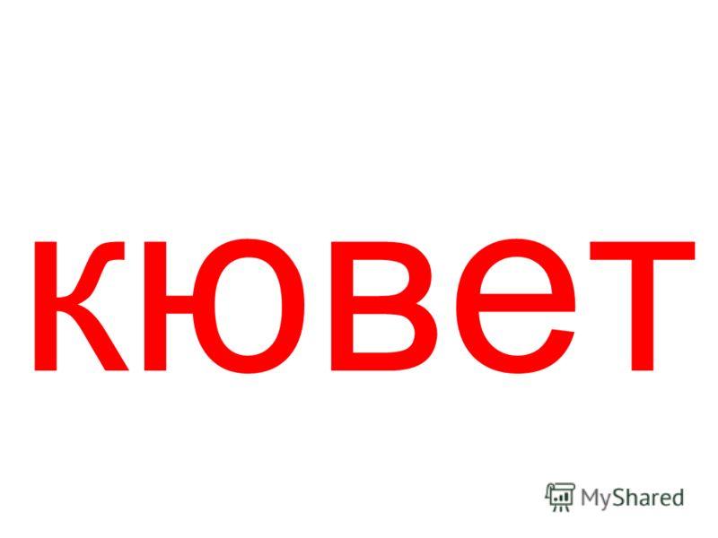 кювет