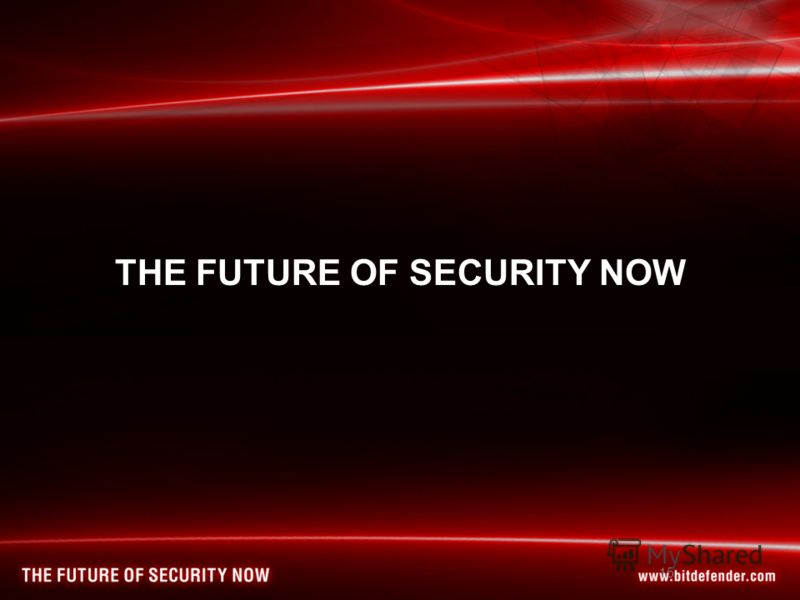 15 THE FUTURE OF SECURITY NOW