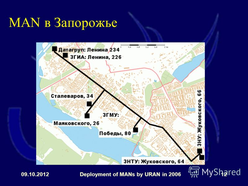 31.07.2012Deployment of MANs by URAN in 200612 MAN в Запорожье