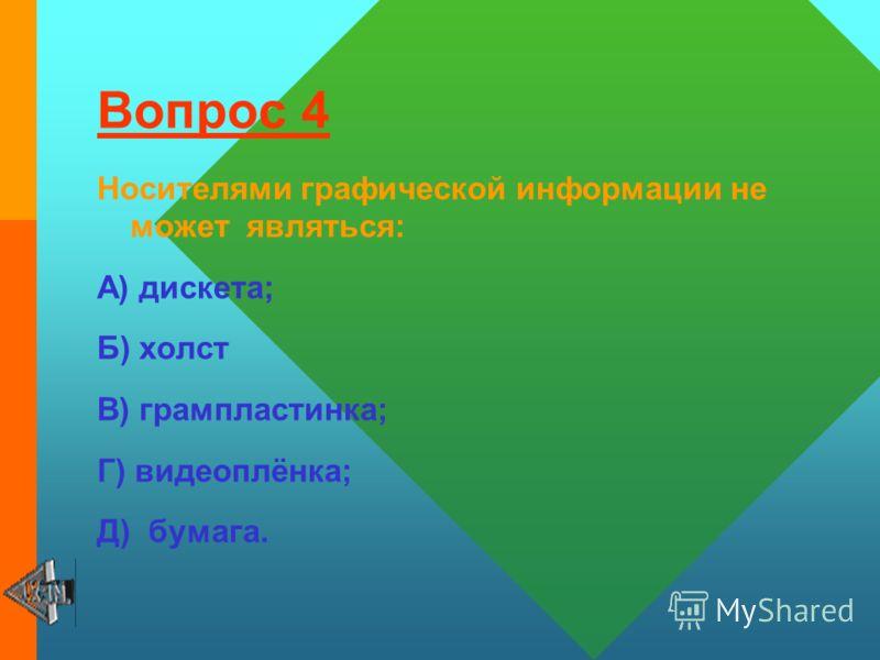 Вопрос 3 Записную книжку используют с целью: А) передачи информации; Б) хранения, обработки и передачи информации; В) обработки информации; Г) хранения информации