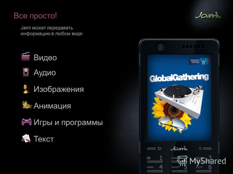 Все просто! Jami может передавать информацию в любом виде: Видео Аудио Изображения Анимация Игры и программы Текст