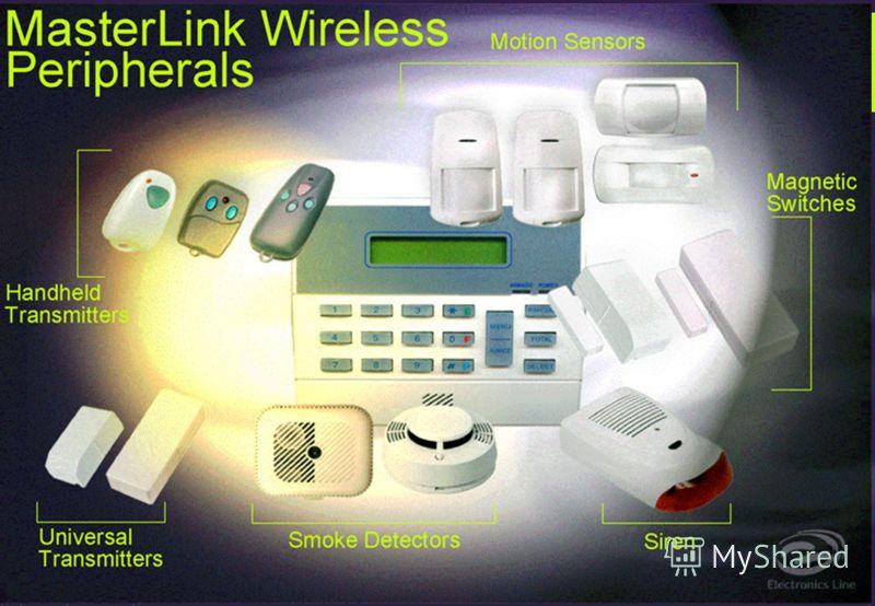 MasterLink - Отличительные Характеристики Специальная система кодирования сигнала во всех передатчиках Невозможно раскодировать или продублировать посылку сигнала - (4 биллиона кодов комбинаций) Эстетичные датчики с использованием передовых технологи