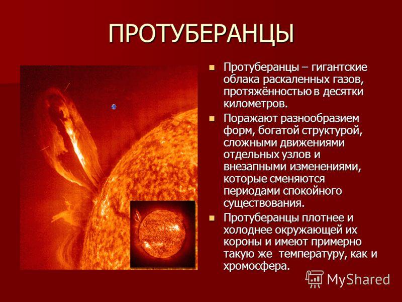 Вспышки Вспышки – один из самых быстрых и мощных процессов, происходящих в хромосфере Солнца. Вспышки – один из самых быстрых и мощных процессов, происходящих в хромосфере Солнца. Начинаются с того, что за несколько минут яркость в некоторой области