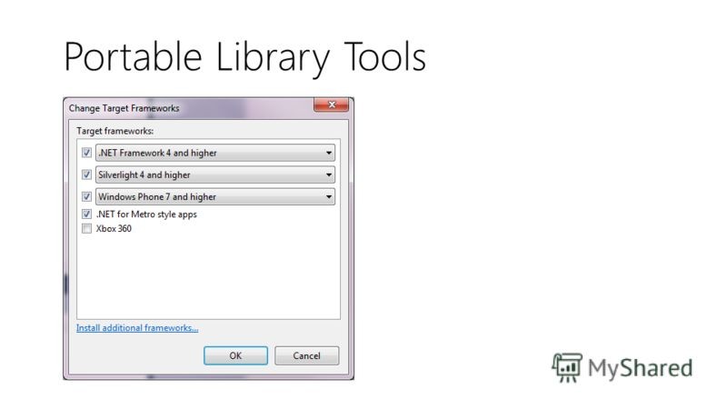 Portable Library Tools