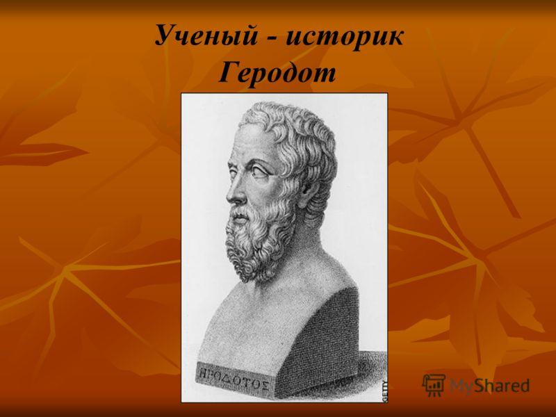 Ученый - историк Геродот