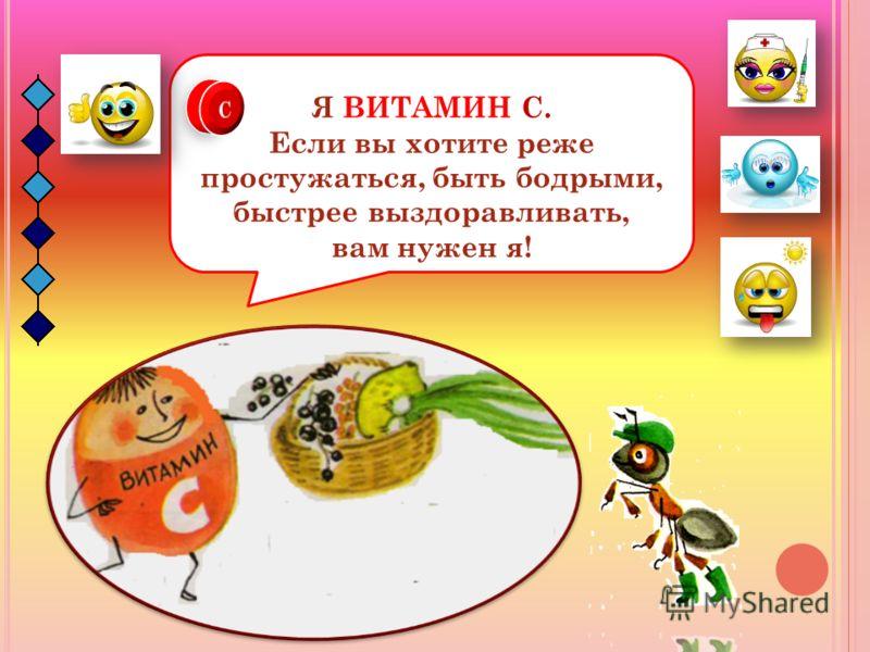 Посмотрите теперь в мою корзинку и назовите овощи и фрукты, в которых содержится ВИТАМИН В.