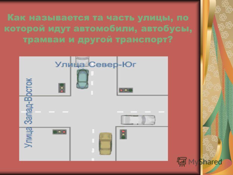 Как называется пересечение двух или нескольких улиц… Тротуар Перекрёсток Остановка
