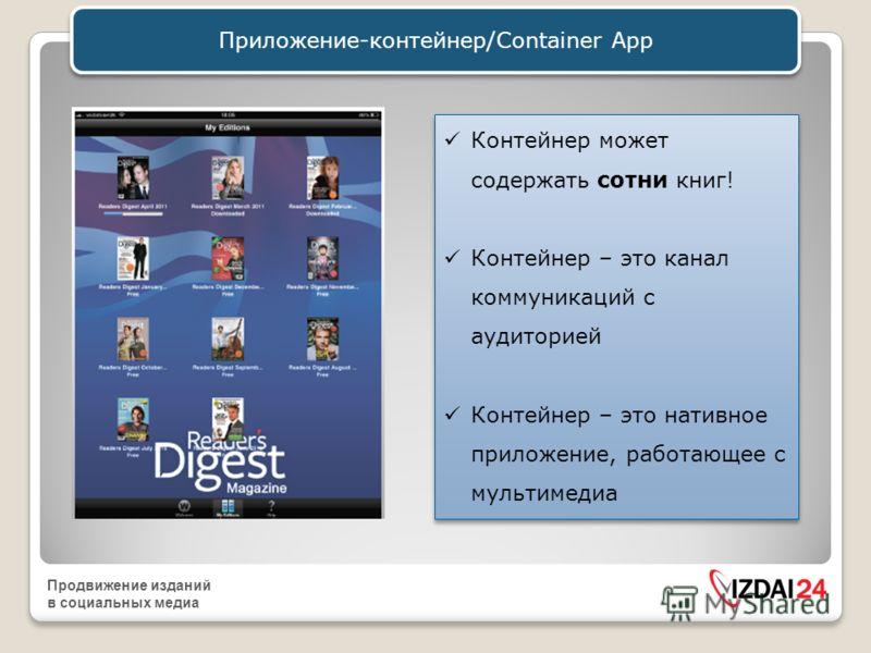 Продвижение изданий в социальных медиа Приложения Разберемся с Apps
