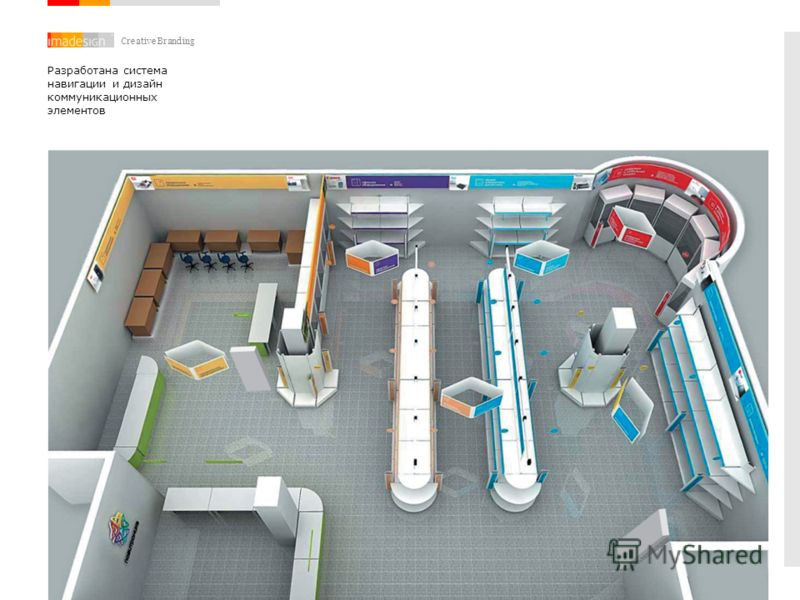 Creative Branding Разработана система навигации и дизайн коммуникационных элементов