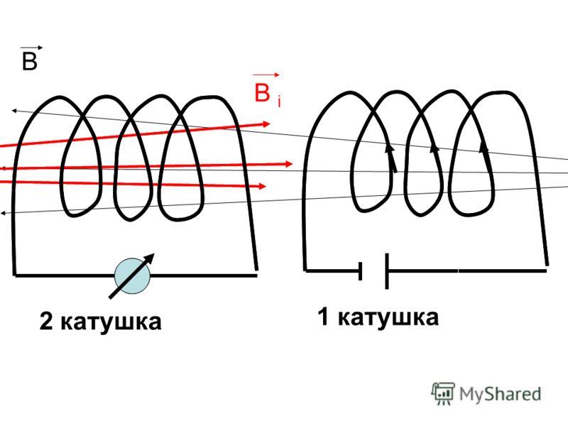 В В iВ i 2 катушка 1 катушка