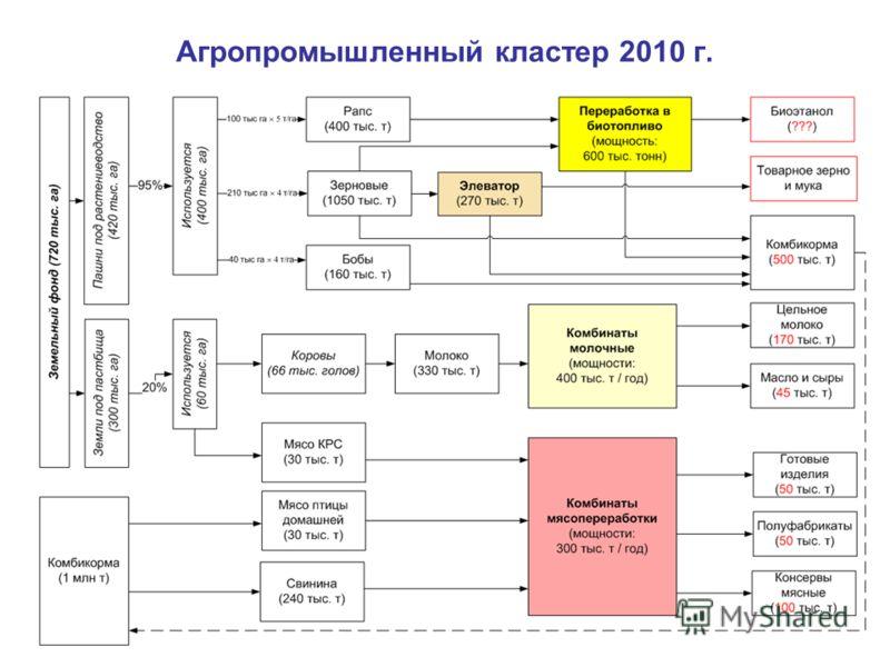 Агропромышленный кластер 2010 г.