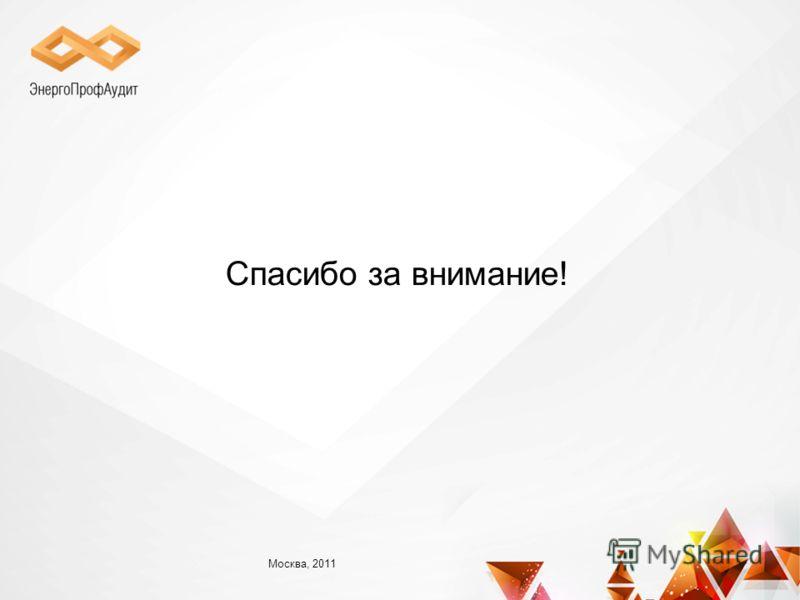 Спасибо за внимание! Москва, 2011