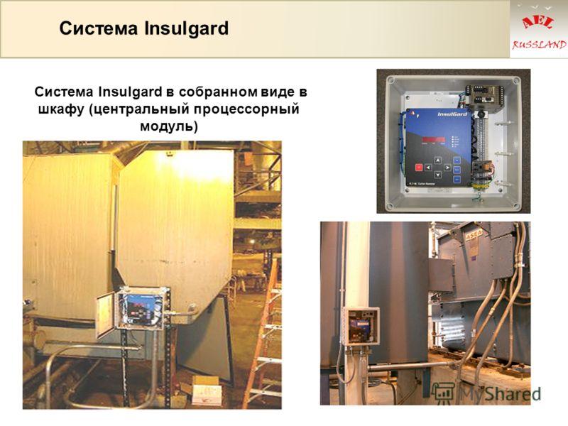 Система Insulgard Система Insulgard в собранном виде в шкафу (центральный процессорный модуль)