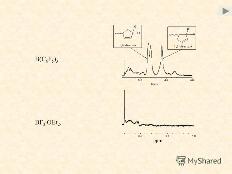 BF 3 ·OEt 2 · B(C 6 F 5 ) 3